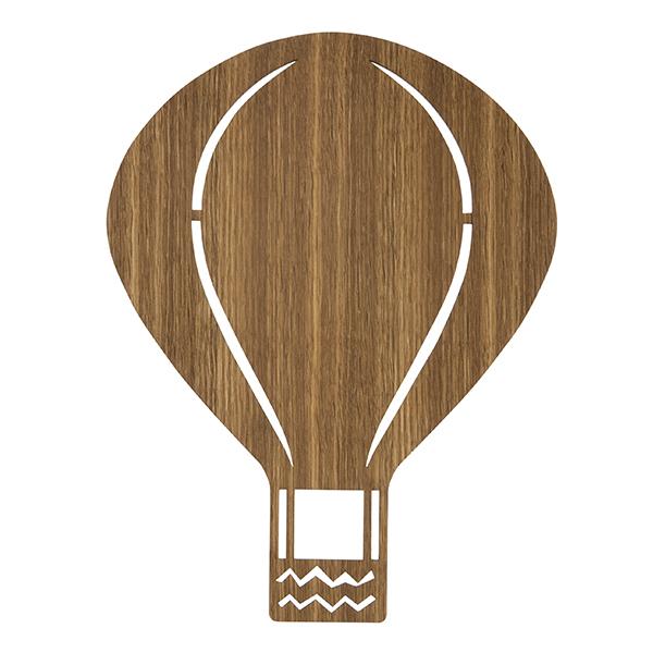 Ferm Living Air Balloon lamp, smoked oak