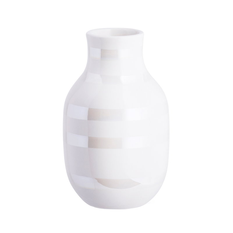 Kähler Omaggio vase, small, pearl