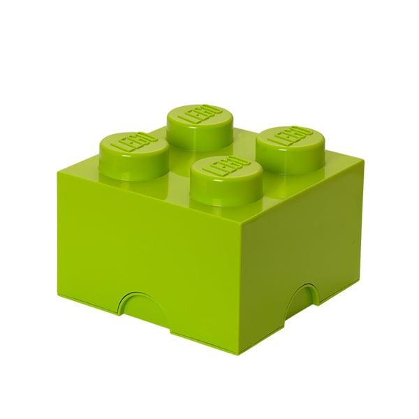 Room Copenhagen Lego säilytyslaatikko 4, lime