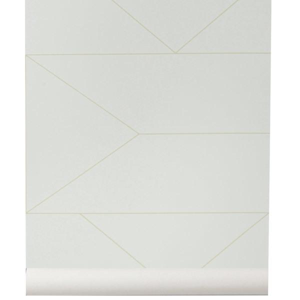 Ferm Living Lines wallpaper, off-white