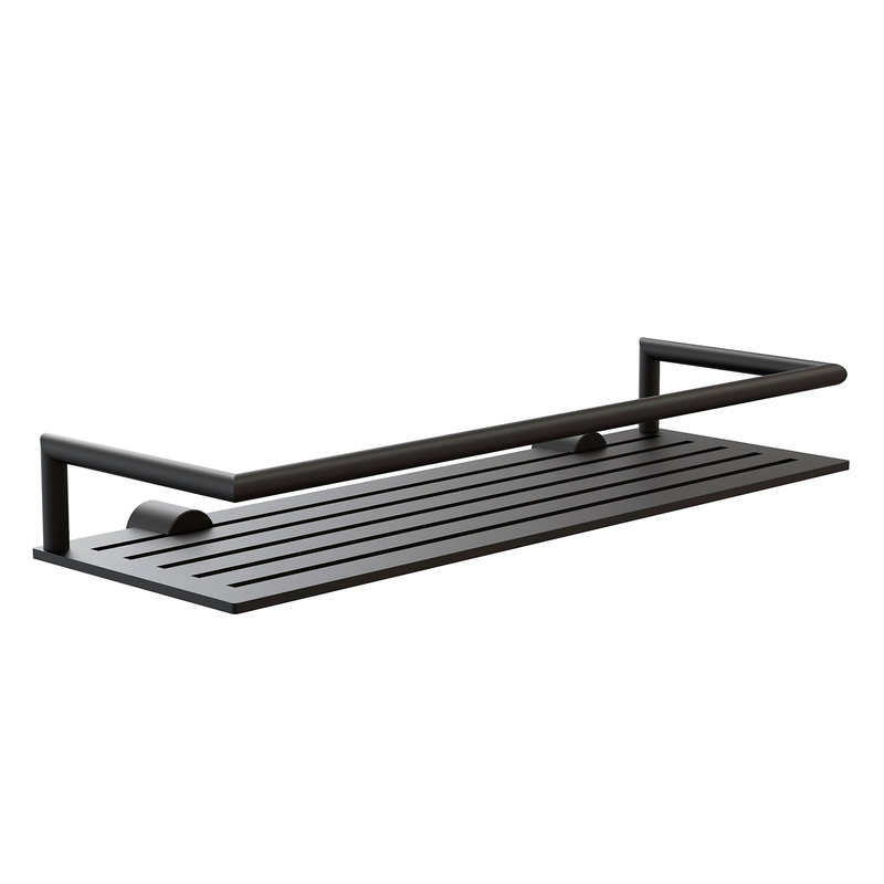 Frost Nova2 shower shelf 4, black