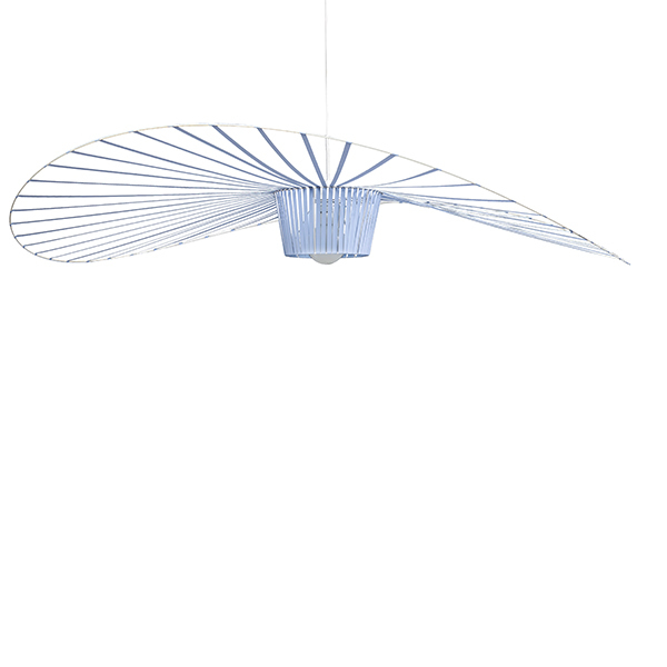 Petite Friture Vertigo pendant, large, light blue