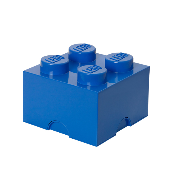 Room Copenhagen Contenitore Lego 4, blu