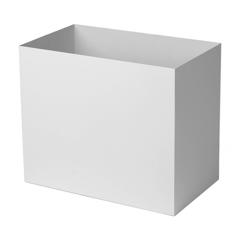 Ferm Living Plant Box pot, large, light grey