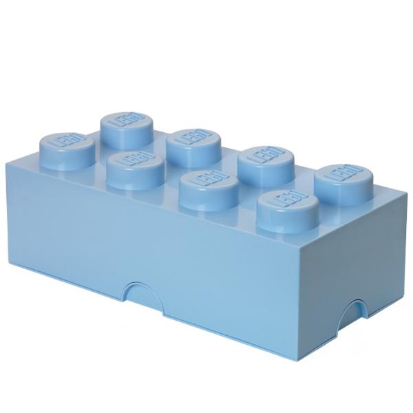 Room Copenhagen Lego Storage Brick 8, light royal blue