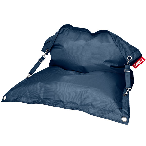 Fatboy Buggle Up bean bag, dark blue