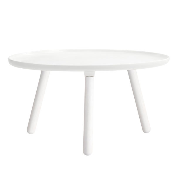 Normann Copenhagen Tablo table large, all white