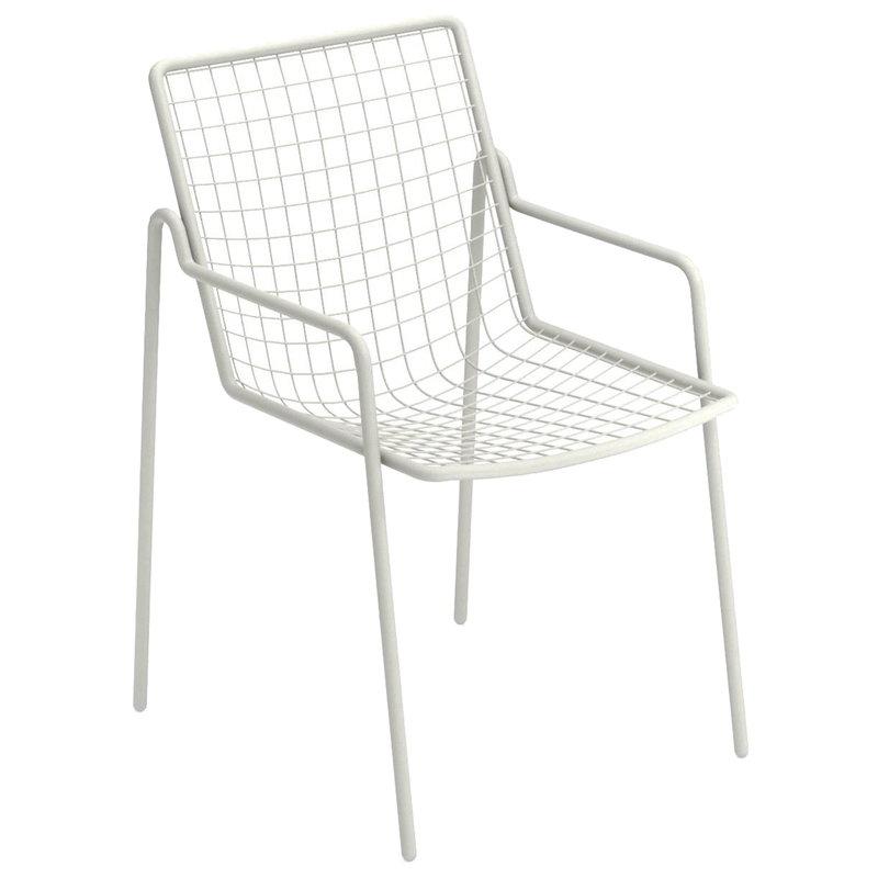 Emu Rio armchair, matt white