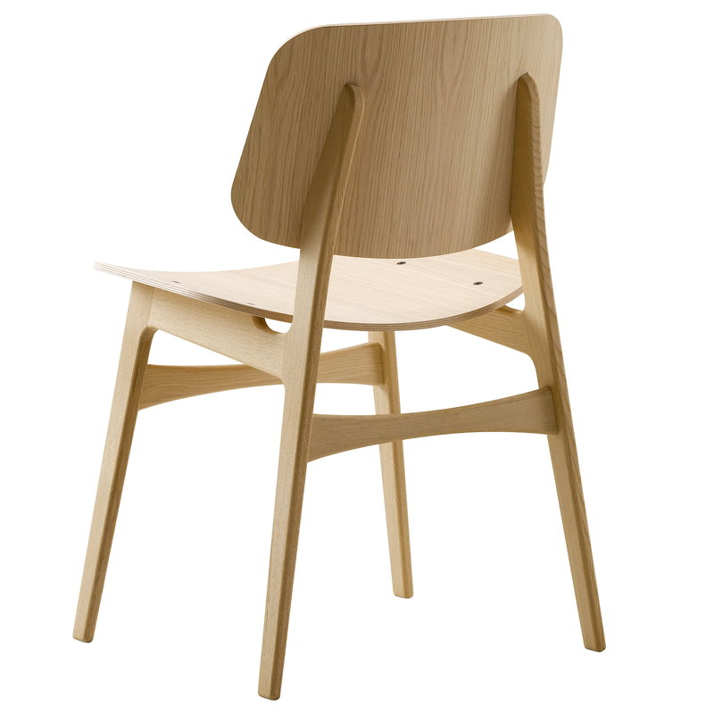 Fredericia Søborg chair 3050, wood base, lacquered oak