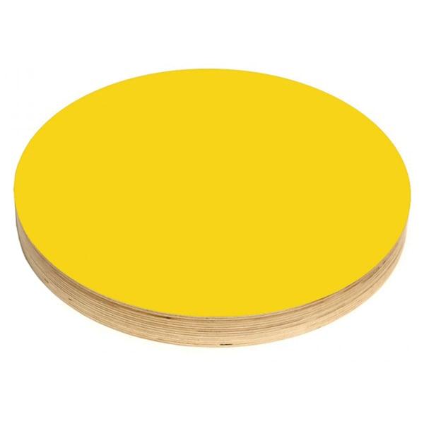 Kotonadesign Muistitaulu iso pyöreä, keltainen