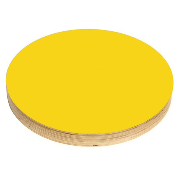Kotonadesign Noteboard large round, yellow