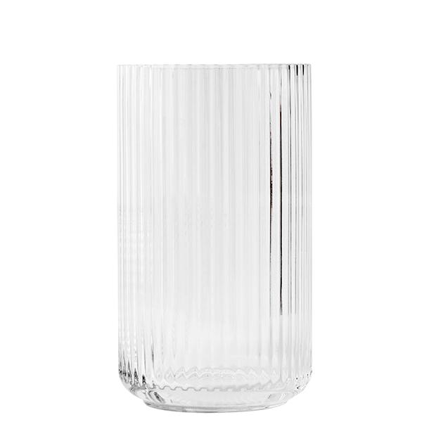 Lyngby Porcelain Lyngby glass vase, 31 cm, clear