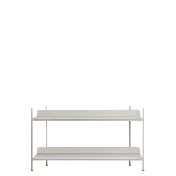 Muuto Compile shelf, Configuration 1, grey