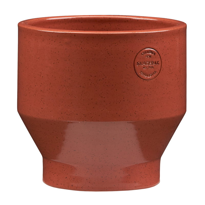 Skagerak Edge ruukku 18 cm, burned red