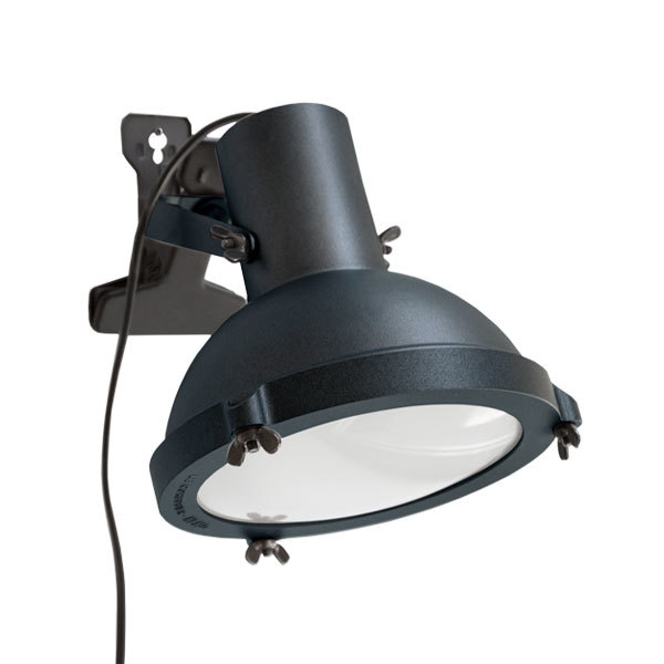 Nemo Lighting Projecteur 165 clip lamp, night blue