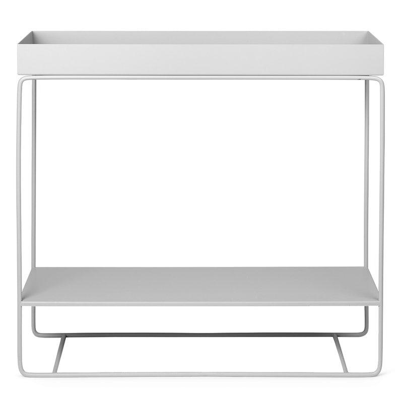 Ferm Living Plant Box, two-tier, light grey