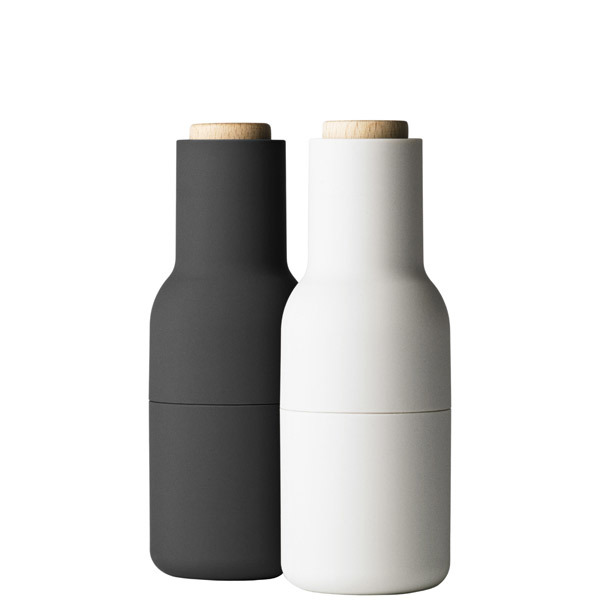 Menu Bottle grinder, 2-pack, ash - carbon - beech