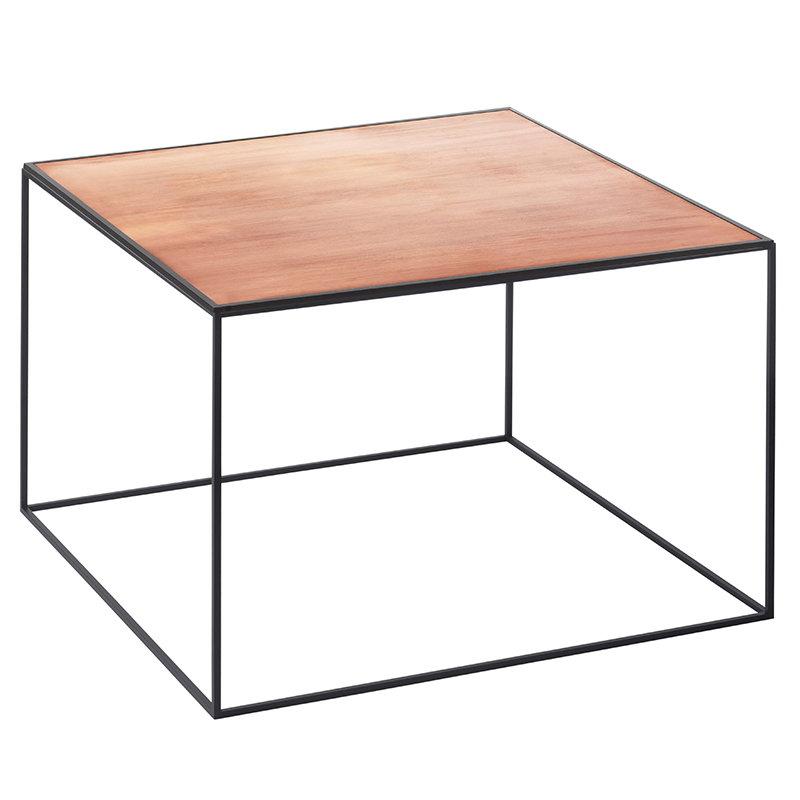 By Lassen Twin 49 table black, copper/black