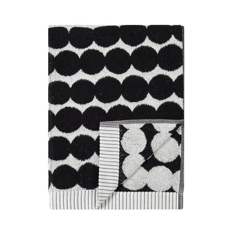 Marimekko Asciugamano Räsymatto, nero-bianco