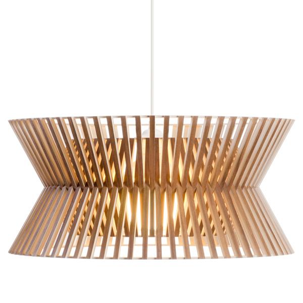 Secto Design Lampada Kontro 6000, noce
