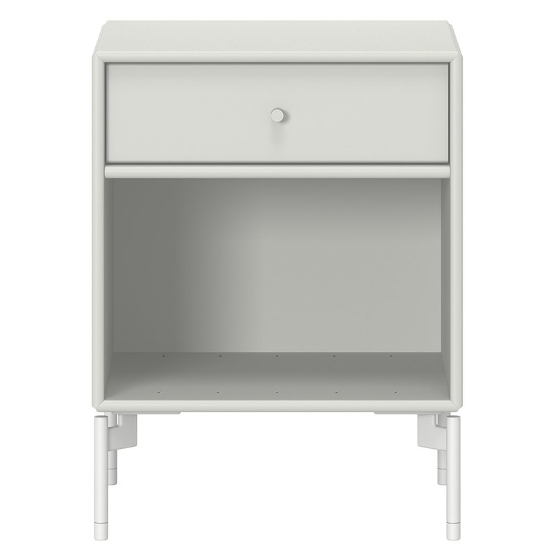 Montana Furniture Dream nightstand, Snow legs - 09 Nordic