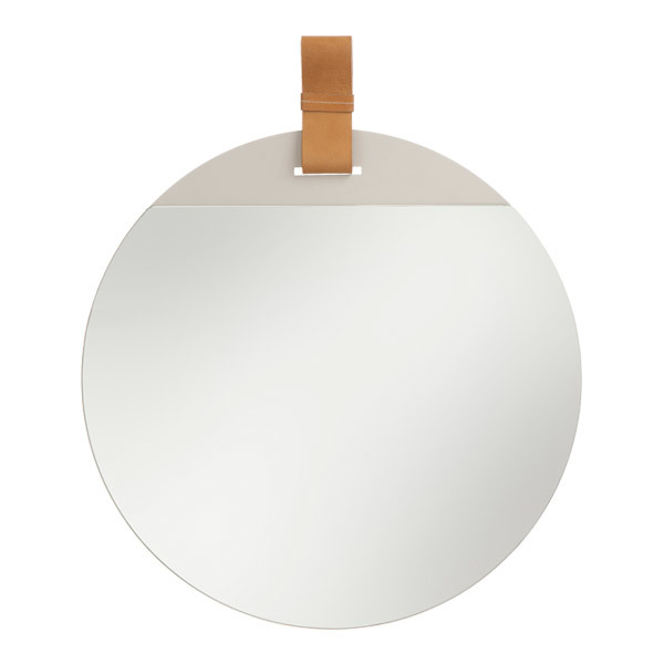 Ferm Living Enter mirror, small, brown