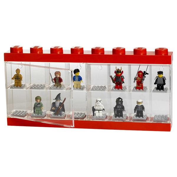 Room Copenhagen Lego display case, large, red