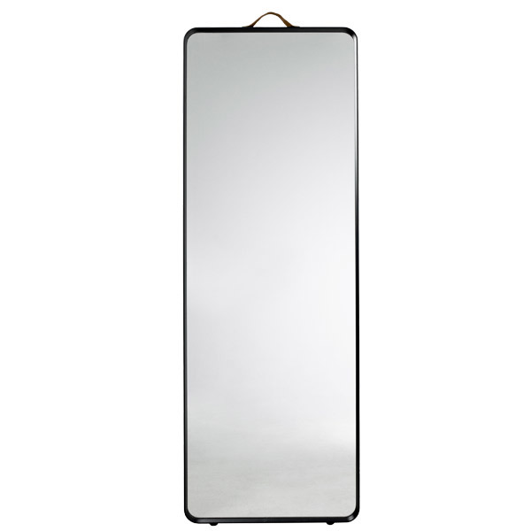 Menu Norm floor mirror, black