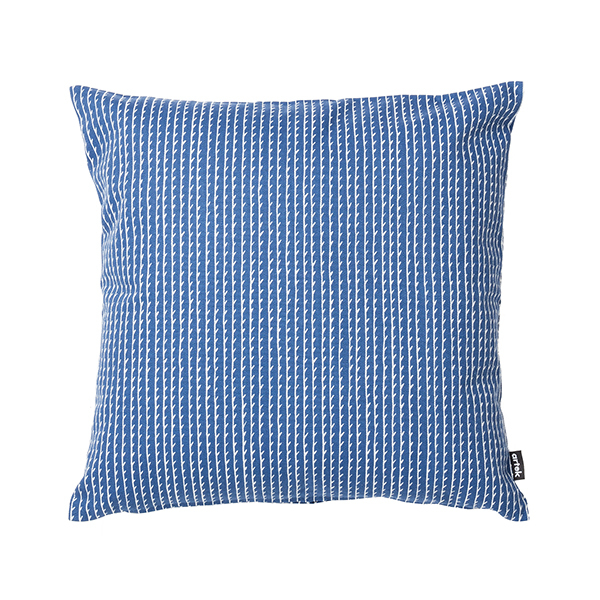 Artek Rivi tyynynpäällinen, 40 x 40 cm, sininen-valkoinen