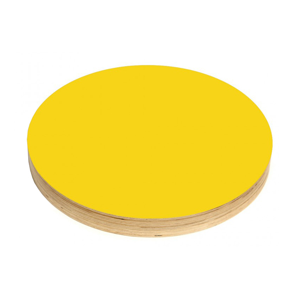 Kotonadesign Kotona noteboard small round, yellow