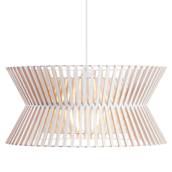 Secto Design Lampada Kontro 6000, bianca