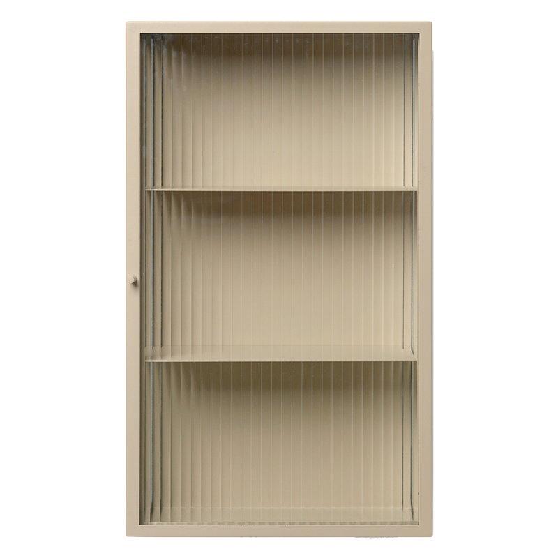 Ferm Living Haze wall cabinet, cashmere