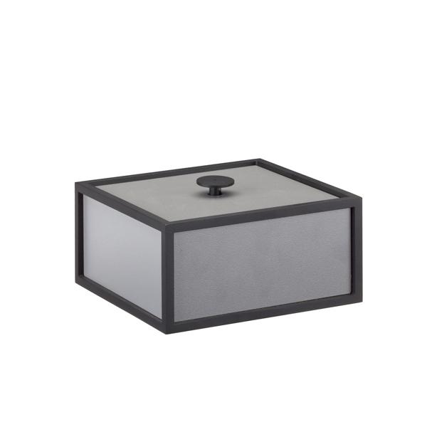 By Lassen Frame 14 laatikko, tummanharmaa