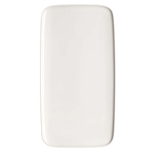 Marimekko Oiva platter 16x30 cm, white