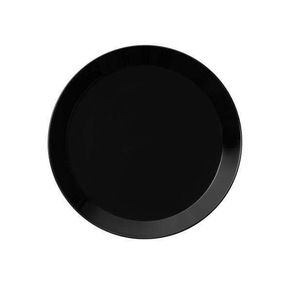 Iittala Teema plate 17 cm, black