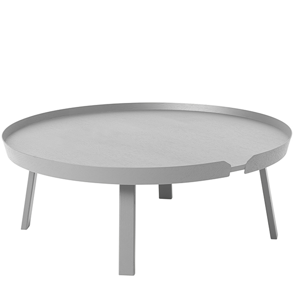 Muuto Around coffee table, XL, grey
