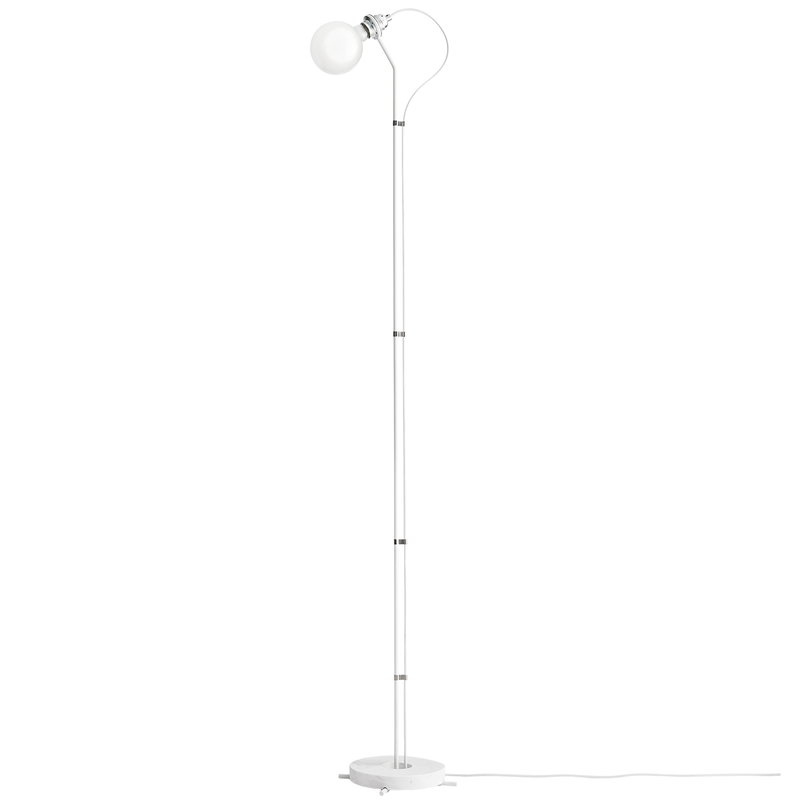 New Works Five floor lamp, white