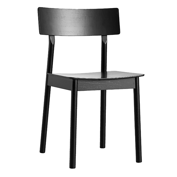 Woud Pause dining chair, black