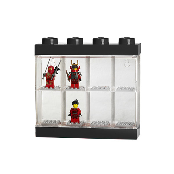 Room Copenhagen Lego display case, small, black
