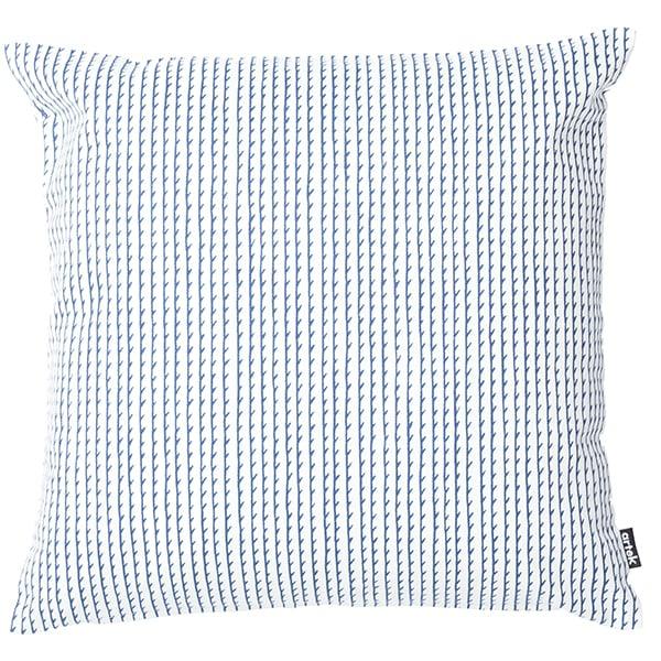 Artek Rivi tyynynpäällinen, 50 x 50 cm, valkoinen-sininen