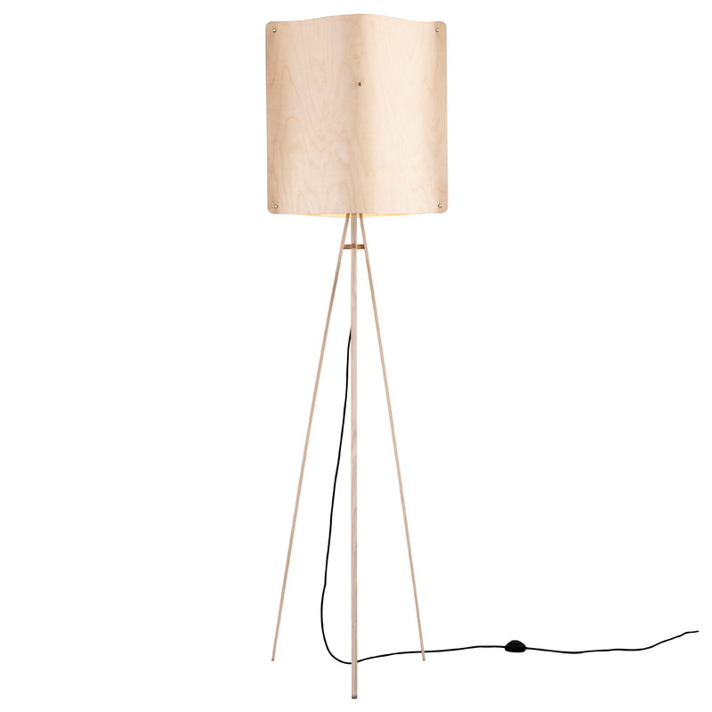 Finom Square floor lamp, large