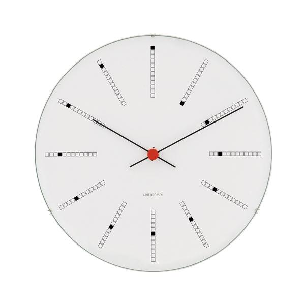 Arne Jacobsen AJ Bankers wall clock 21 cm, white