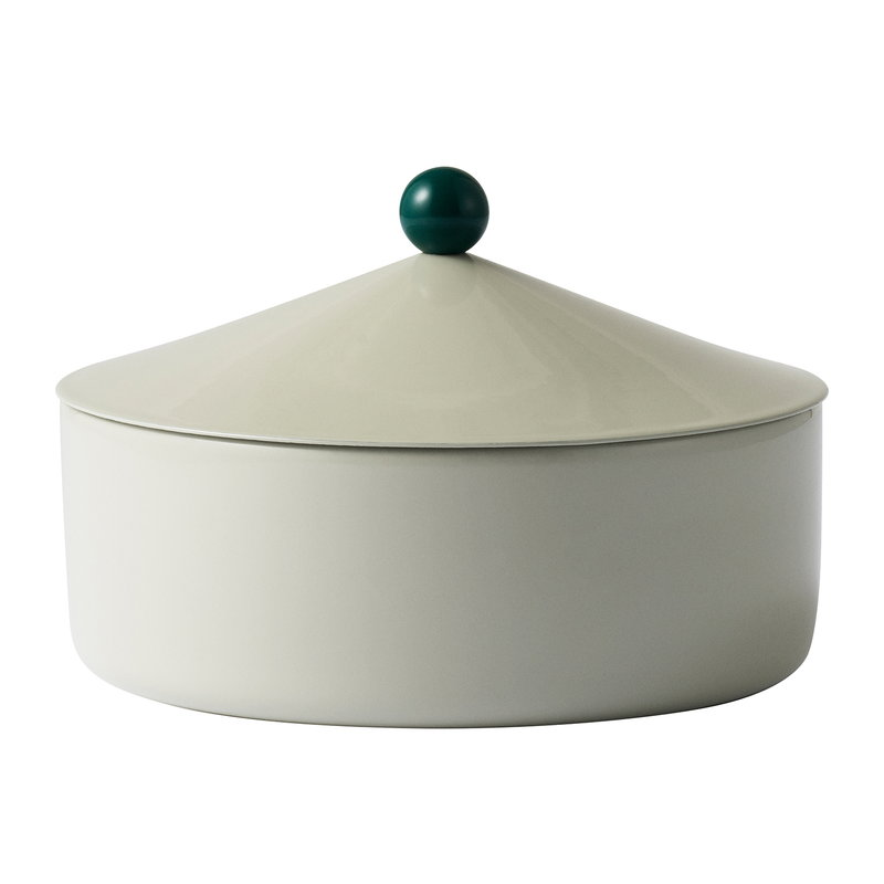 Tivoli Marquee box, medium, antique celadon