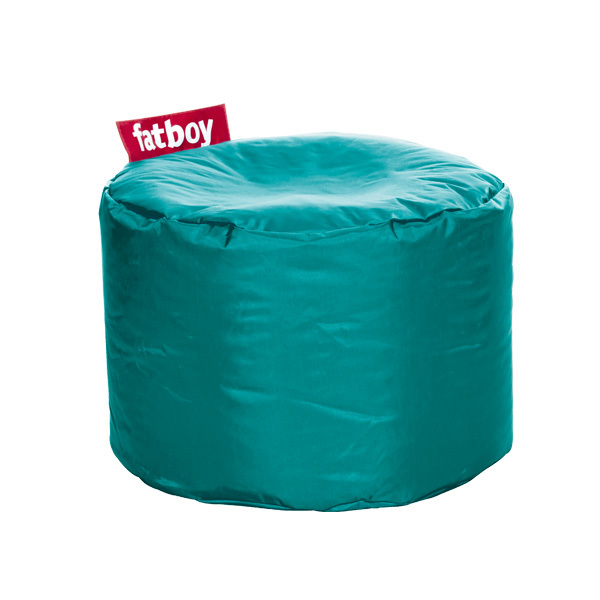 Fatboy Pouf rotondo Point, turchese