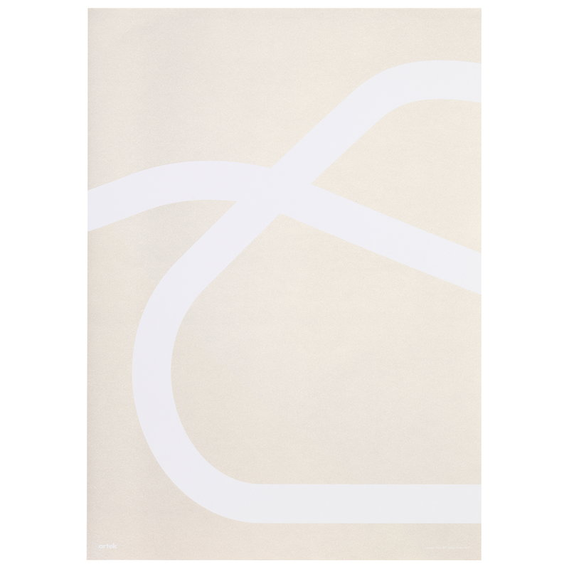 Artek Outline poster, Lounge Chair 43