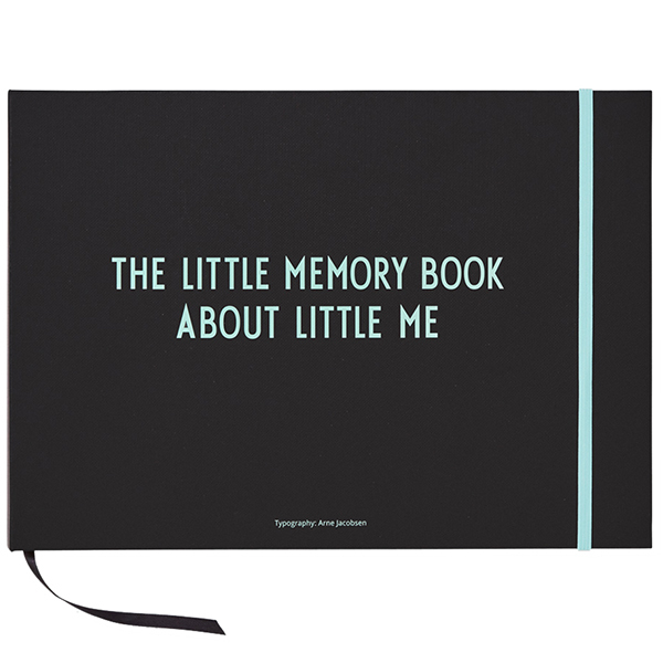 Design Letters The Little Memory Book about Little Me, turquoise