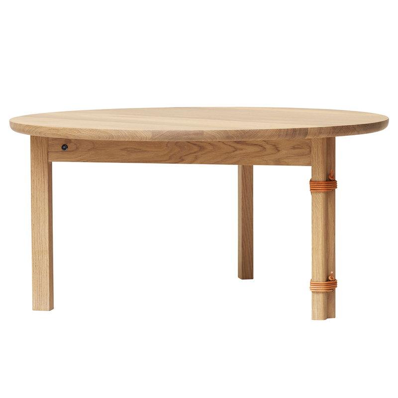 Form & Refine Strap coffee table, white oiled oak