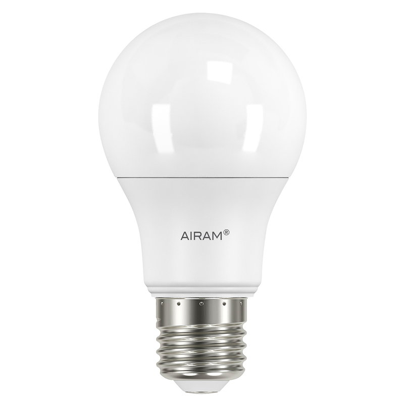 Airam LED standard bulb 8,5W E27 806lm, dimmable