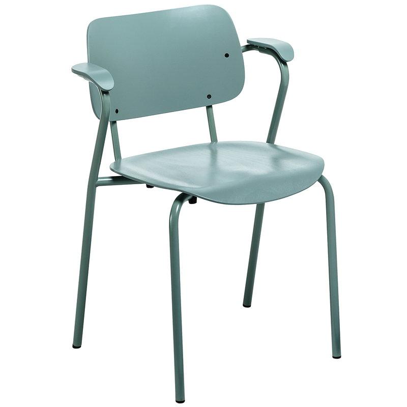 Artek Lukki chair, sage green
