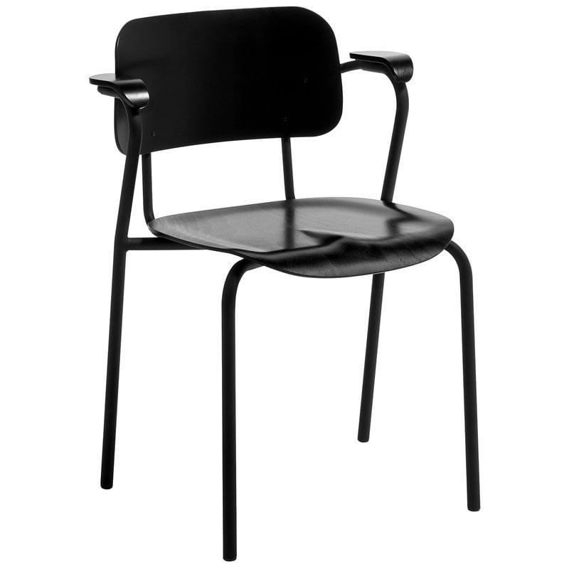 Artek Lukki tuoli, musta
